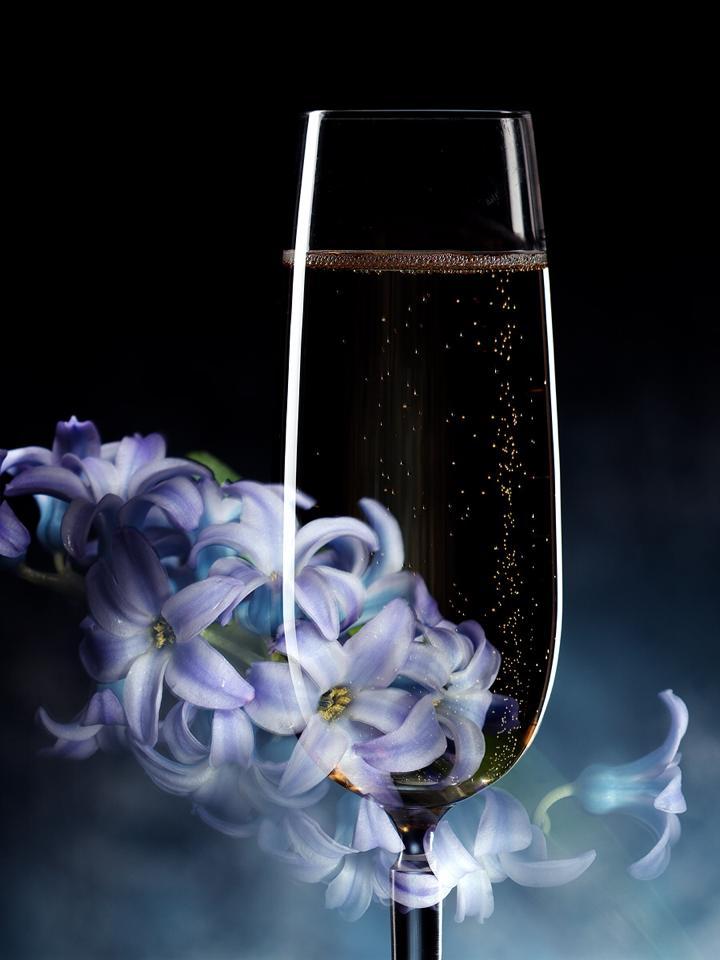 Floower-Champagne