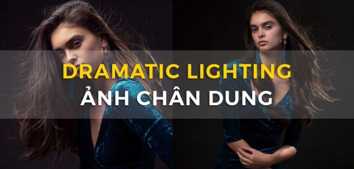 Dramatic lighting ảnh chân dung với 02 đèn