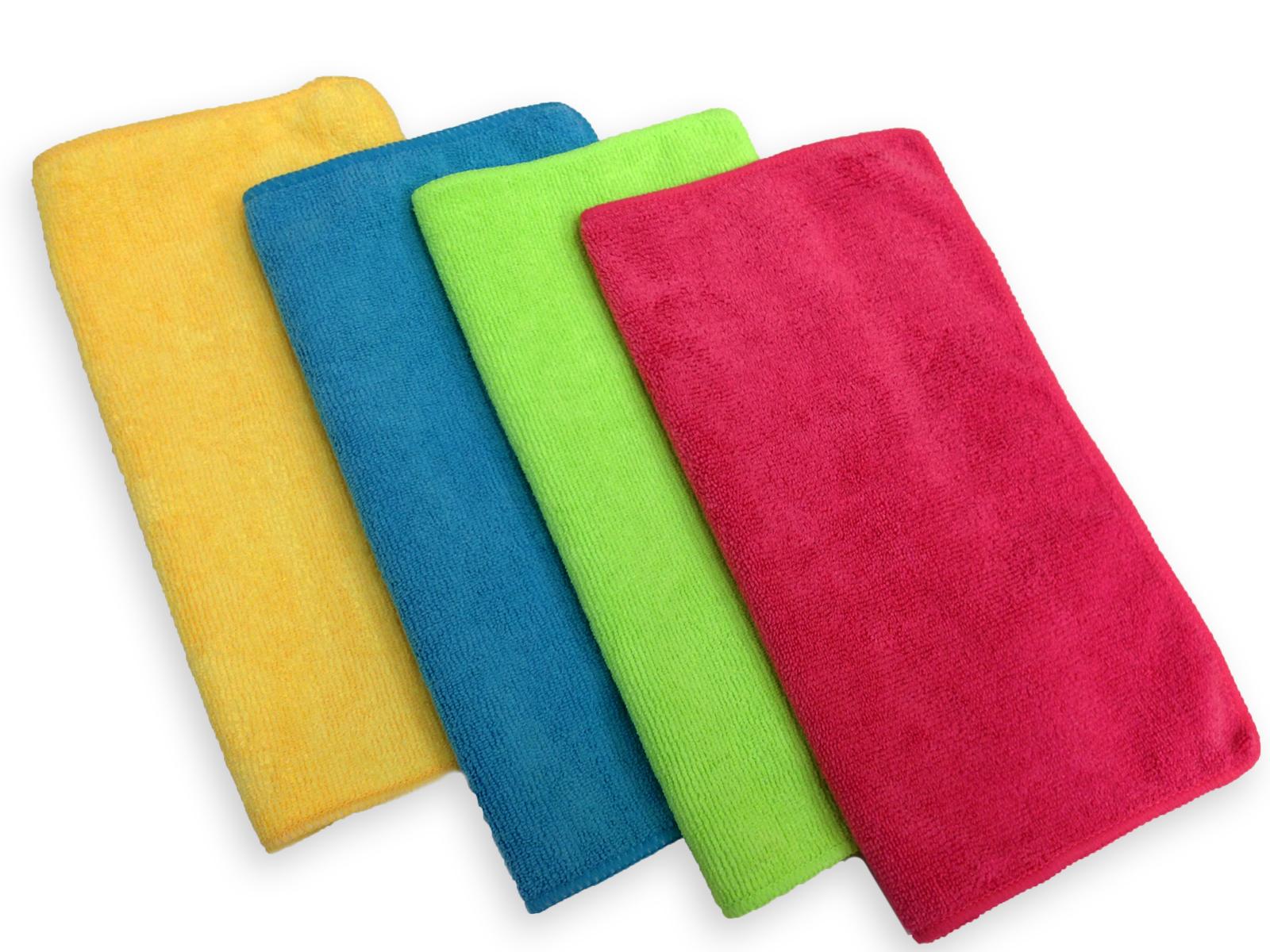Vải chất liệu microfiber là chất liệu tốt để lau cốc thuỷ tinh